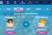 Ontvang direct 300 gratis spins of €100 bonus