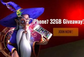 Win een iPhone 7 bij Casino Cruise!