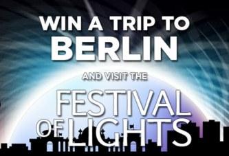 Win een reis naar Berlijn voor het Festival of Lights!