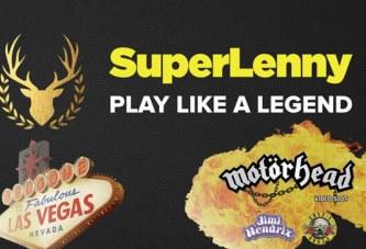 SuperLenny Rockt mee met Motörhead!