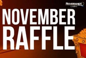 November Loterij bij Rembrandt Casino