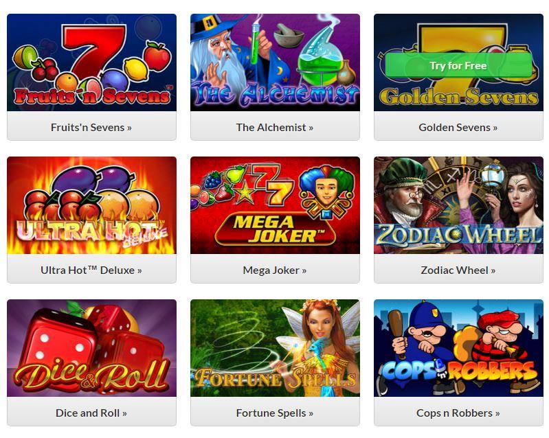 Quasar Gaming gokkasten