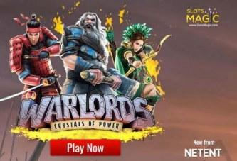 Exclusieve Warlords bonus bij Slots Magic