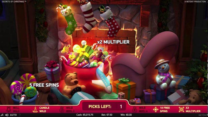 Secrets of Christmas Bonusgame