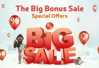 Big Bonus Sale bij Florijn Casino!
