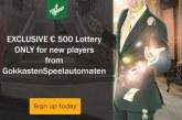 Win € 500 bij deze Exclusieve Loterij!
