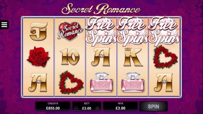 Secret Romance Free Spins