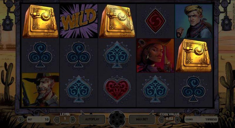 Wild Wild West Bonusspel Safe
