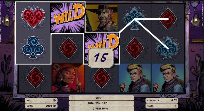 Wild Wild West Free Spins 2