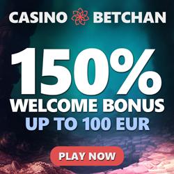 Betchan Square Banner Welkomstbonus 150%