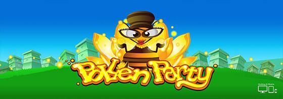 Pollen Party Welkomst