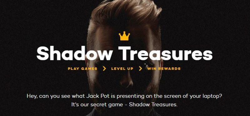 ShadowBet Treasures Spel
