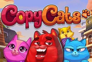 Copy Cats met 10 gratis spins!