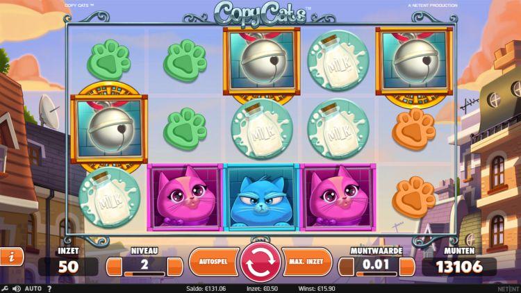 Copycats bonusspel