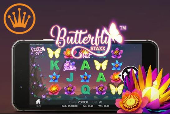 Vlindersvlug Free Spins op Butterfly Staxx!